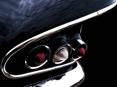 '58 Chevy Impala Fin Poster by Douglas Pittman
