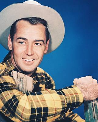 Alan Ladd Poster by Silver Screen
