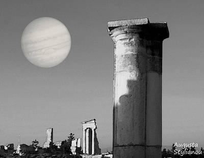 Apollo Sanctuary - Cyprus Poster by Augusta Stylianou