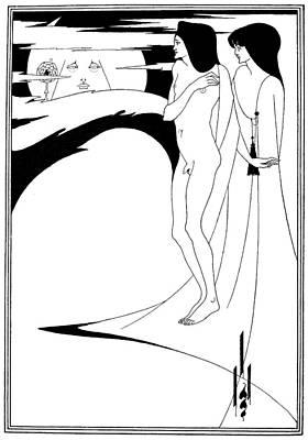 Beardsley Salome Poster by Granger
