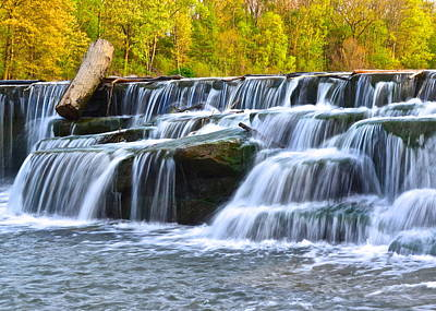 Berea Falls Poster by Frozen in Time Fine Art Photography
