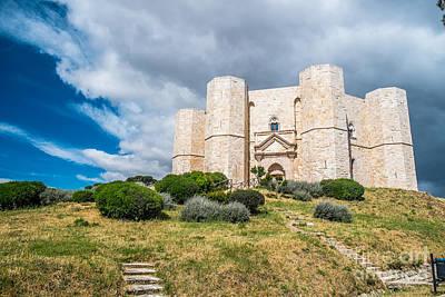 Castel Del Monte Poster by Sabino Parente