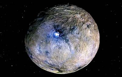Ceres Poster by Nasa/jpl-caltech/ucla/mps/dlr/ida