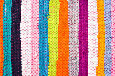 Colorful Textile Poster by Tom Gowanlock