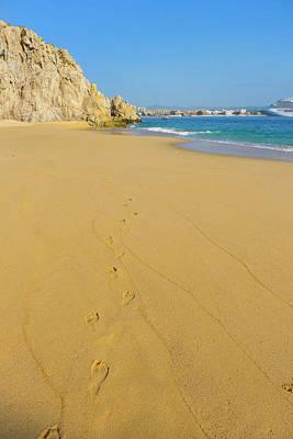 Divorce Beach, Cabo San Lucas, Baja Poster by Douglas Peebles