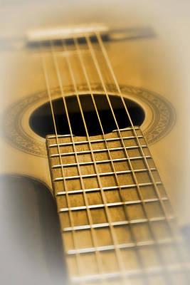 6 Golden Strings Poster by Daniel Hagerman