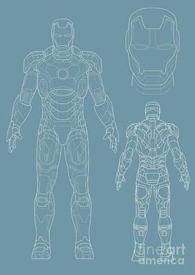 Iron Man Poster by Caio Caldas