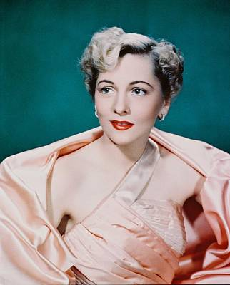 Joan Fontaine Poster by Silver Screen