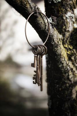 Keys Poster by Joana Kruse
