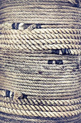 Rope Poster by Tom Gowanlock