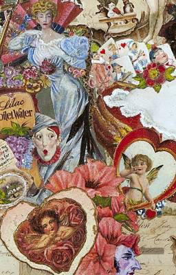 Victorian Romance Poster by Jonell Restivo