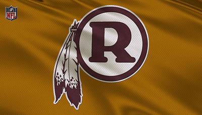 Washington Redskins Uniform Poster by Joe Hamilton