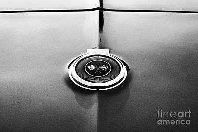 66 Corvette Gas Cap  Poster by Tim Gainey