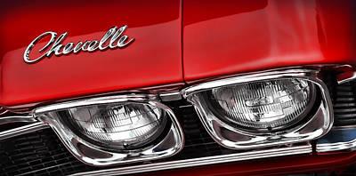 '68 Chevelle Ss Poster by Gordon Dean II