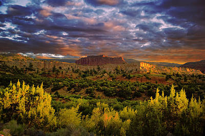Capitol Reef National Park Poster by Mark Smith