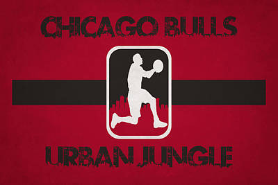 Chicago Bulls Poster by Joe Hamilton