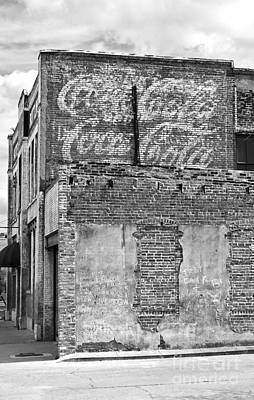 Coca Cola Sign On The Side Of A Brick Building In Hattiesburg Mi Poster by ELITE IMAGE photography By Chad McDermott
