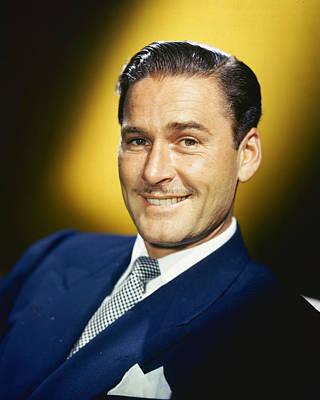 Errol Flynn Poster by Silver Screen