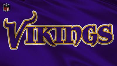 Minnesota Vikings Uniform Poster by Joe Hamilton