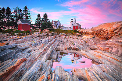 Pemaquid Lighthouse Poster by Emmanuel Panagiotakis