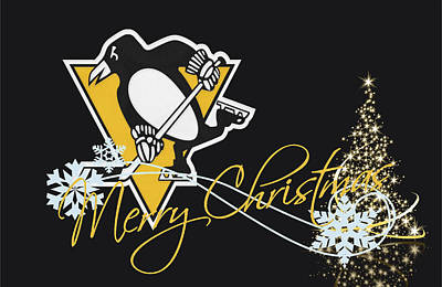 Pittsburgh Penguins Poster by Joe Hamilton