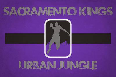 Sacramento Kings Poster by Joe Hamilton