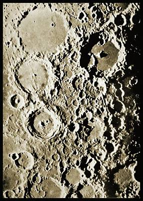 Surface Of The Moon Poster by Detlev Van Ravenswaay