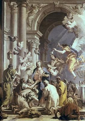 Tiepolo, Giovanni Battista 1696-1770 Poster by Everett