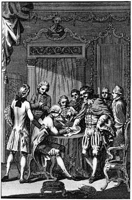 Treaty Of Paris, 1783 Poster by Granger