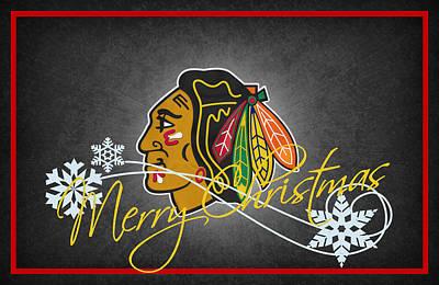 Chicago Blackhawks Poster by Joe Hamilton