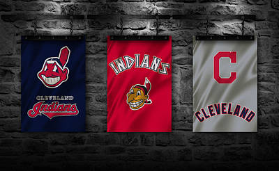 Cleveland Indians Poster by Joe Hamilton