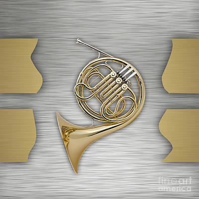 French Horn Collection Poster by Marvin Blaine