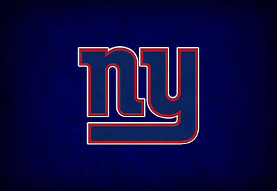 New York Giants Poster by Joe Hamilton
