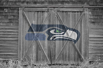 Seattle Seahawks Poster by Joe Hamilton