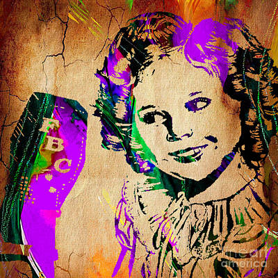 Shirley Temple Collection Poster by Marvin Blaine
