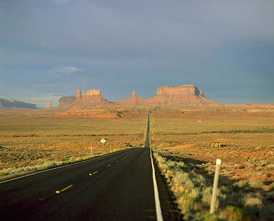 Usa, Arizona, Monument Valley Navajo Poster by Tips Images