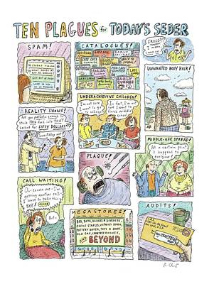 Untitled Poster by Roz Chast