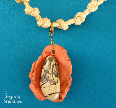 Aphrodite Gamelioi Necklace Poster by Augusta Stylianou