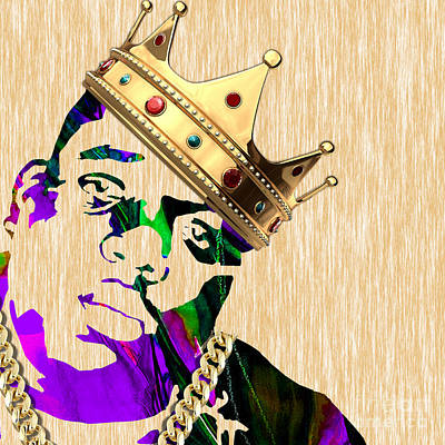 Biggie Collection Poster by Marvin Blaine