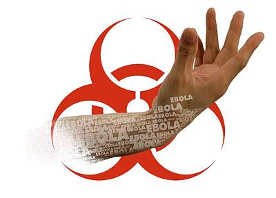 Ebola Epidemic Poster by Victor Habbick Visions
