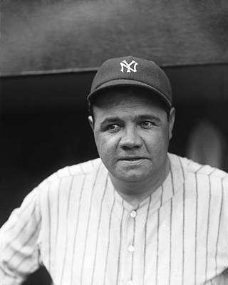 George H. Babe Ruth Poster by Retro Images Archive