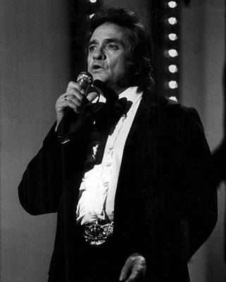 Johnny Cash Poster by Retro Images Archive
