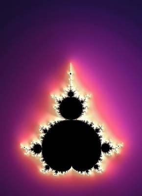 Mandelbrot Fractal Poster by Alfred Pasieka
