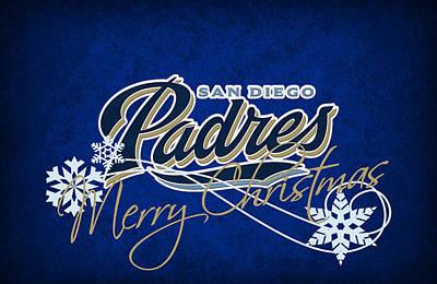 San Diego Padres Poster by Joe Hamilton