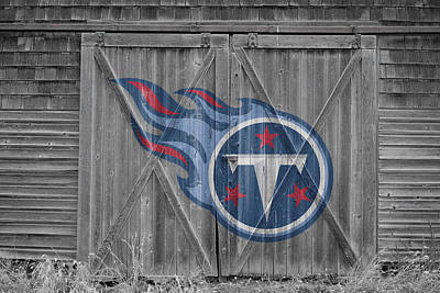 Tennessee Titans Poster by Joe Hamilton