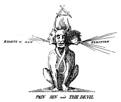 Thomas Paine (1737-1809) Poster by Granger