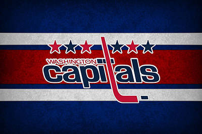 Washington Capitals Poster by Joe Hamilton
