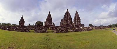 9th Century Hindu Temple Prambanan Poster by Panoramic Images