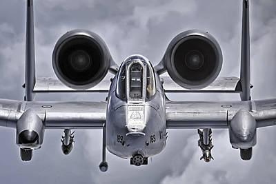 A-10 Thunderbolt II Poster by Adam Romanowicz