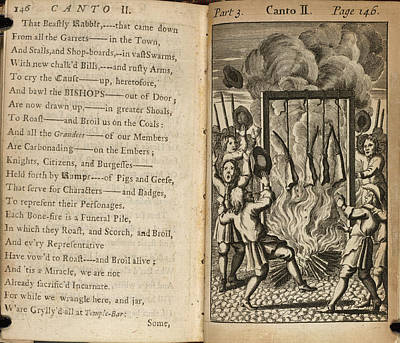 A Burning Poster by British Library